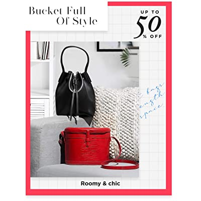 Shop bucket bags