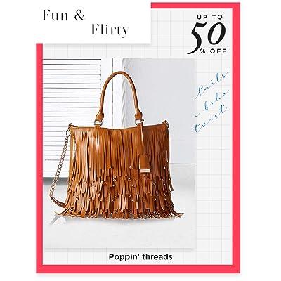 Shop tasseled handbags