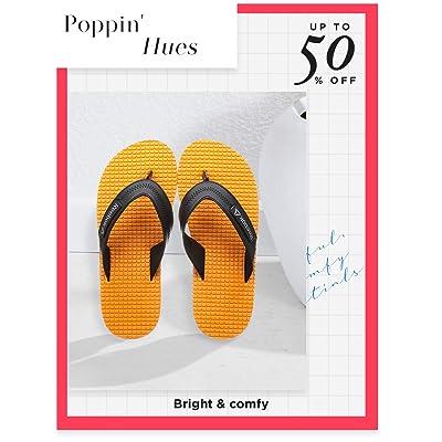 Shop colourful flip flops