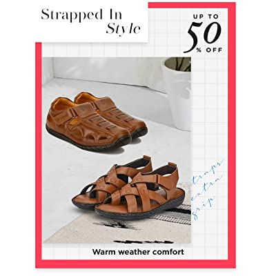 Shop leather sandals & floaters