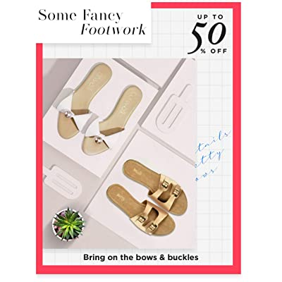 Shop footwear with bows & buckles