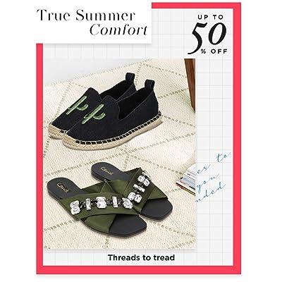 Shop fabric footwear