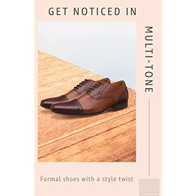 Shop multi-tone formal footwear