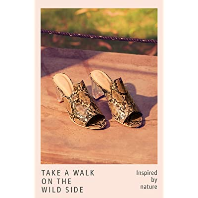 Shop Animal Prints & Textured Footwear