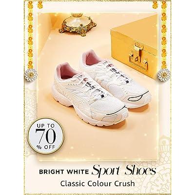 Shop white sports shoes