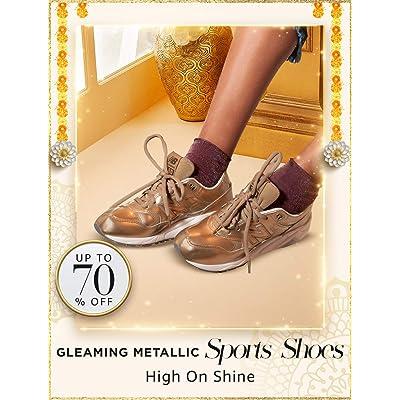 Shop metallic sports shoes