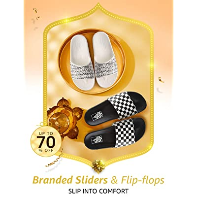Shop sliders & flip flops