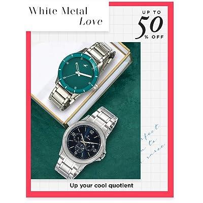 Shop monotone silver watches