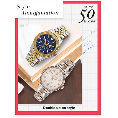 Shop dual tone watches