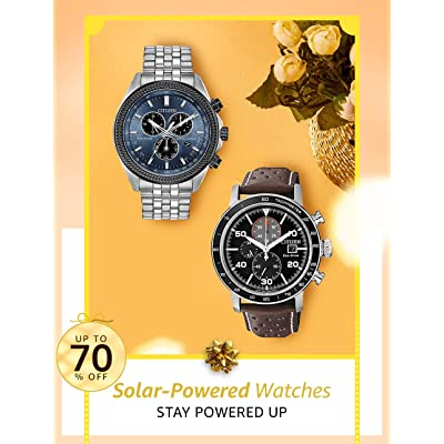 Shop Solar-powered Watches