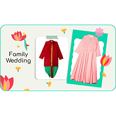 Occasion wear for lil' trend setters
