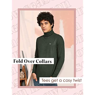 Shop Roll Neck Tees