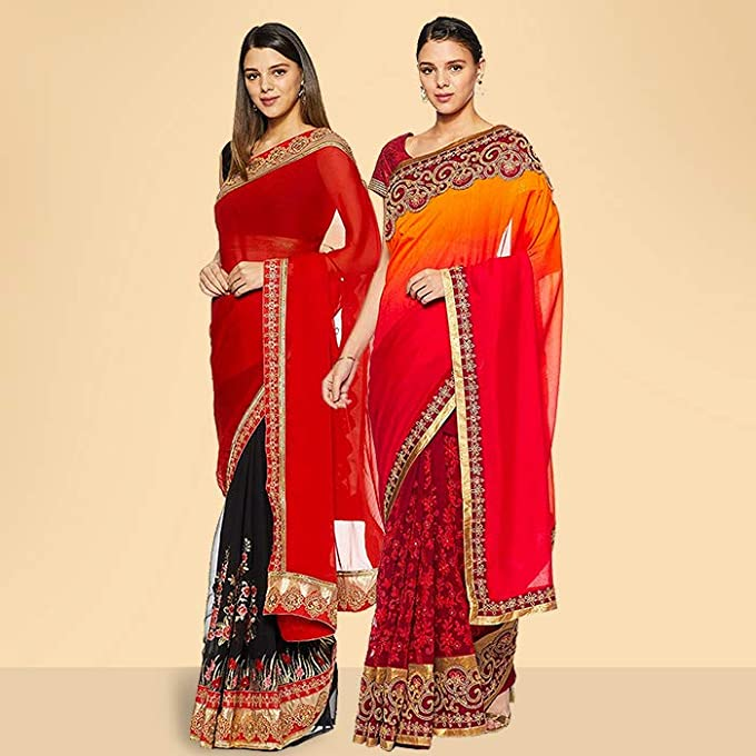 Sarees pack of 5