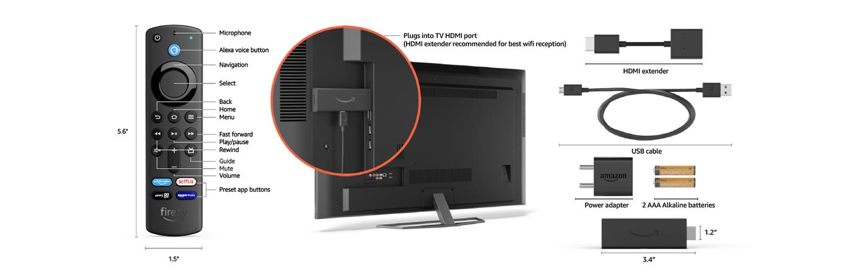 Fire TV Stick technical details