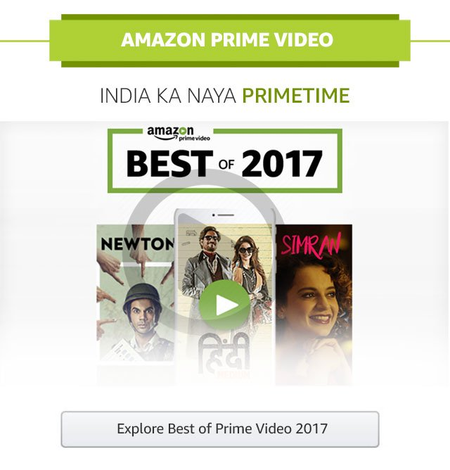 Best of Prime video 2017