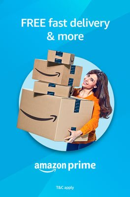 FREE fast delivery and more, Amazon Prime