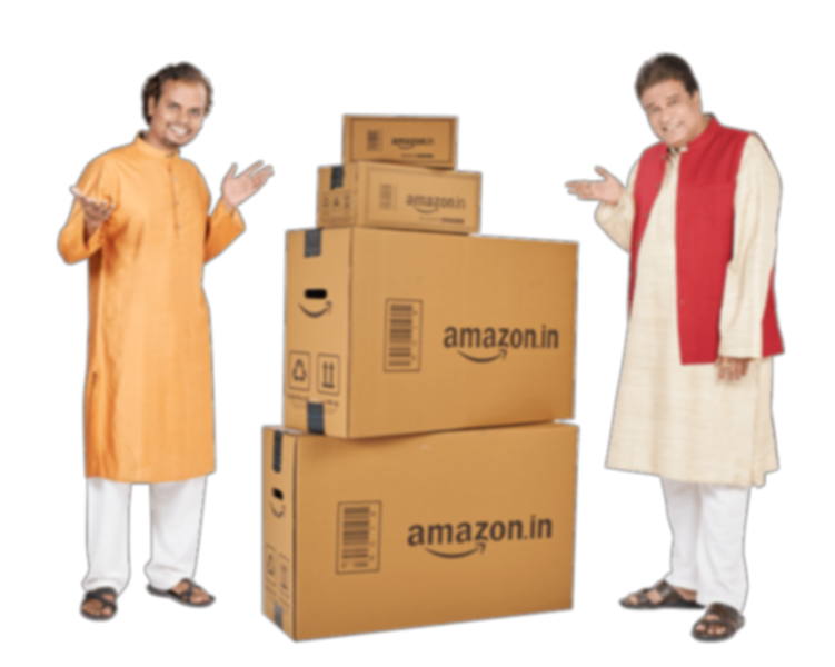India sellers ready to ship their products to the customers