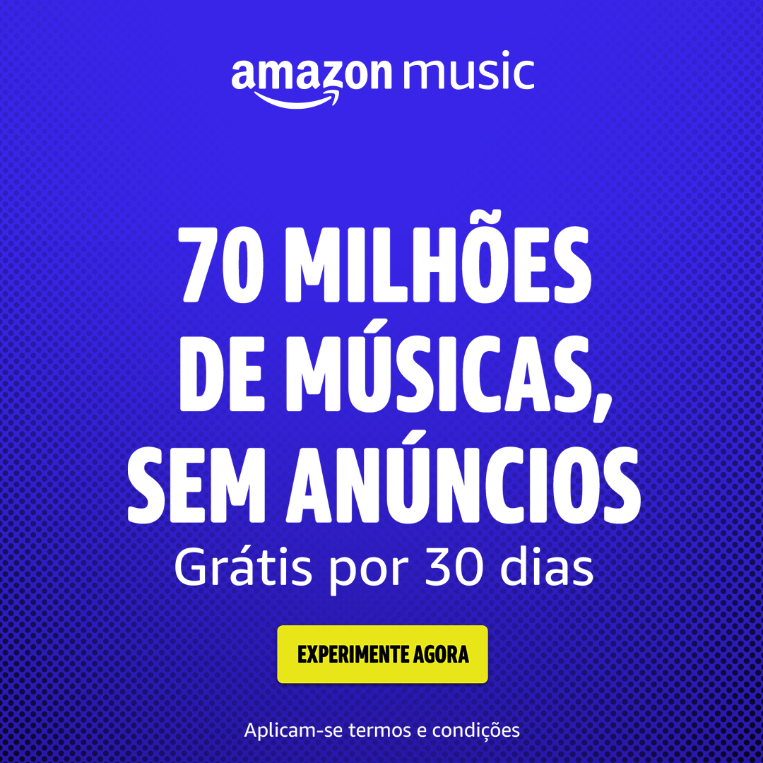 Amazon Music por 30 dias grátis
