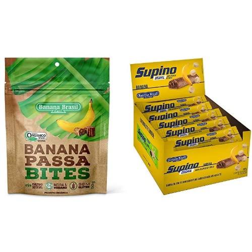 Banana Passa Orgânica Bites Banana Brasil 50g