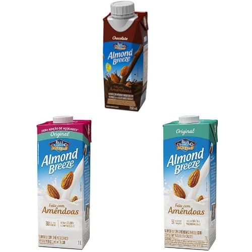 Alimento com Amêndoas Original Almond Breeze 1L