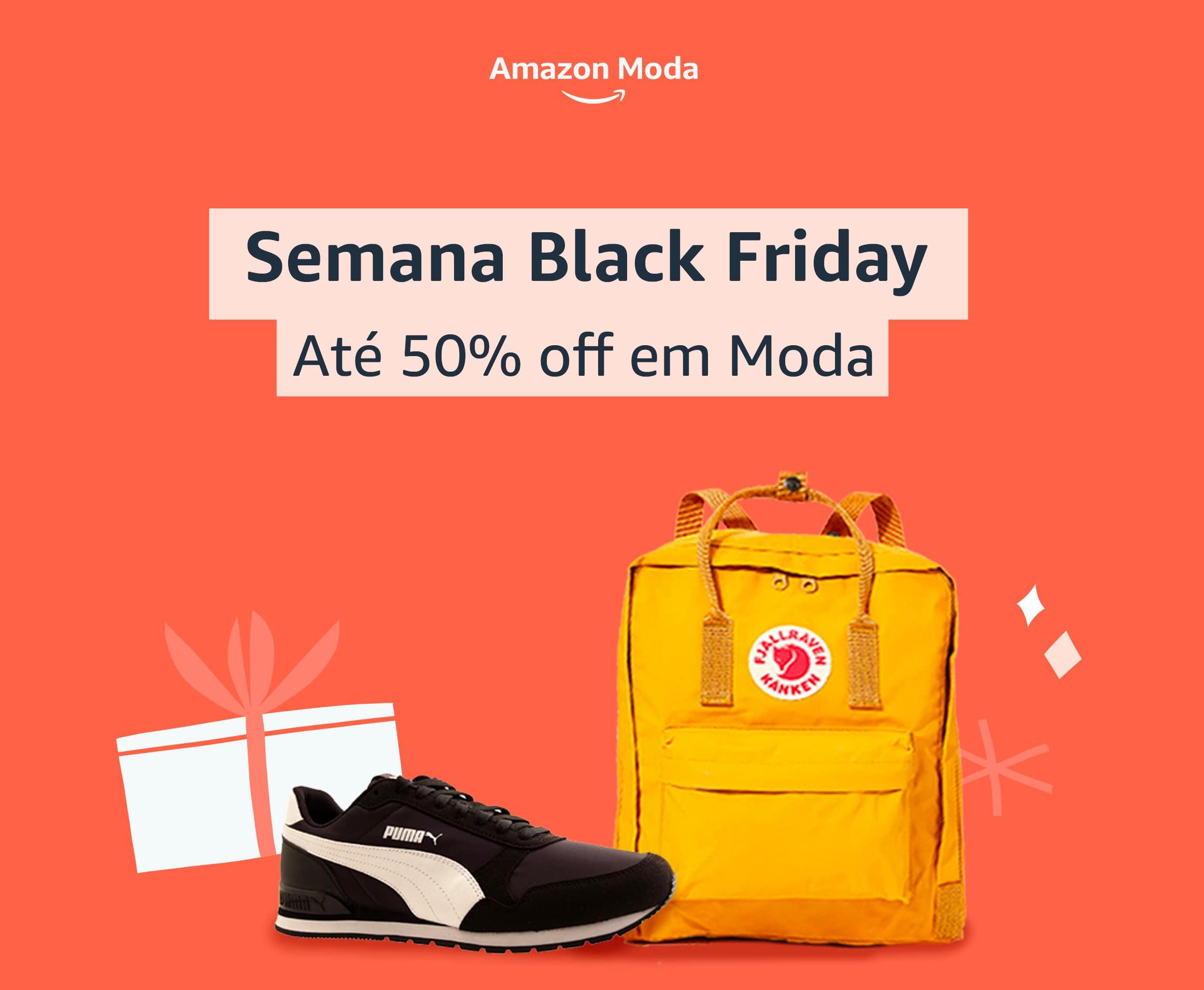 Semana Black Friday: Até 50% off em Moda