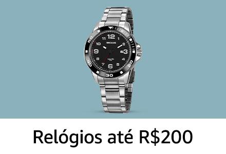 Relógios até R$200