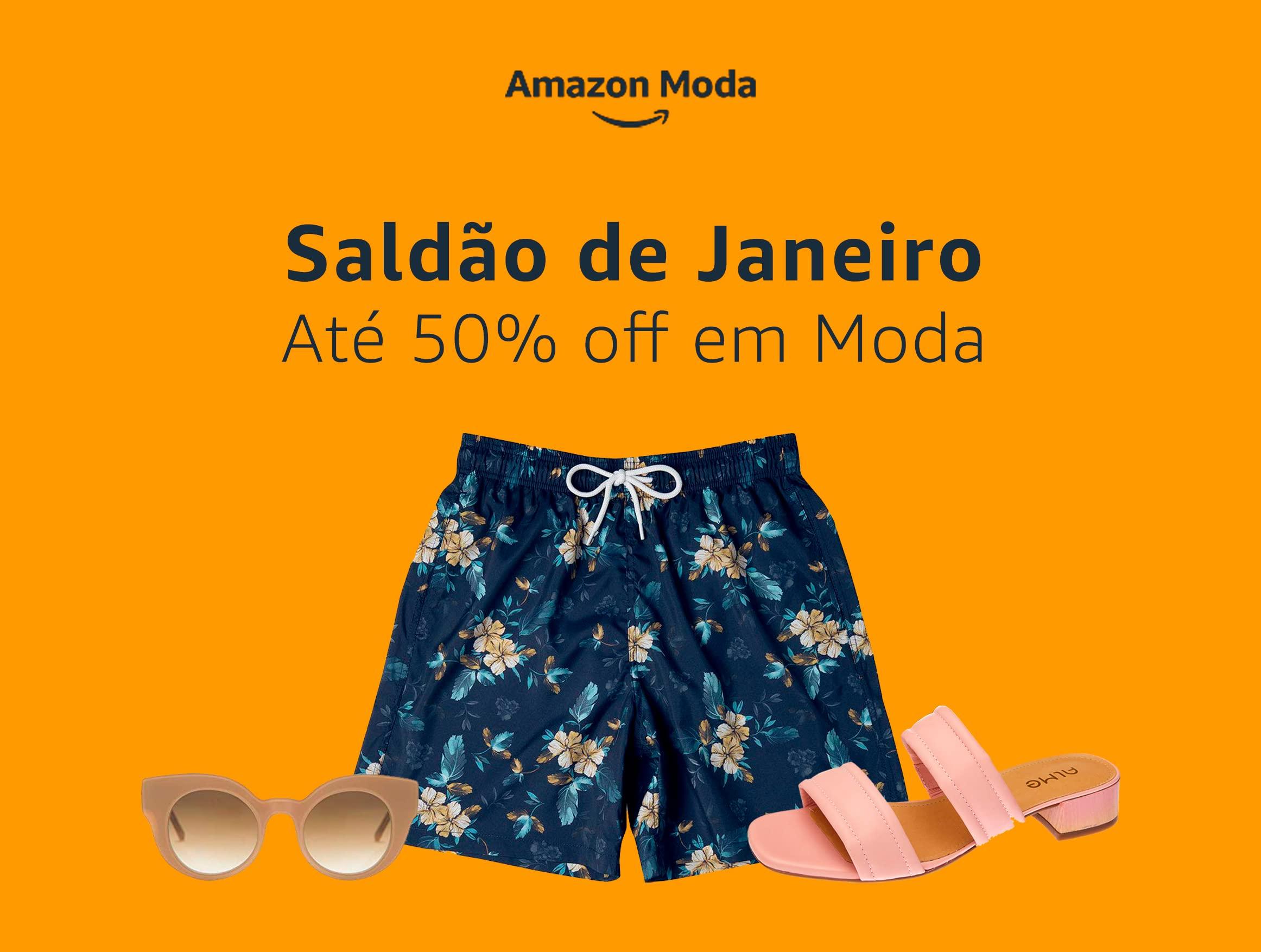 Saldão de Janeiro: Até 50% off em Moda