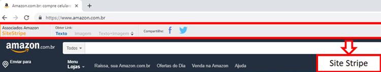 SiteStripe