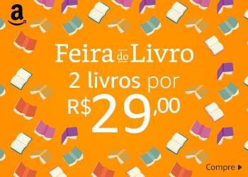 Feira do Livro - 2 livros por R$ 29,00
