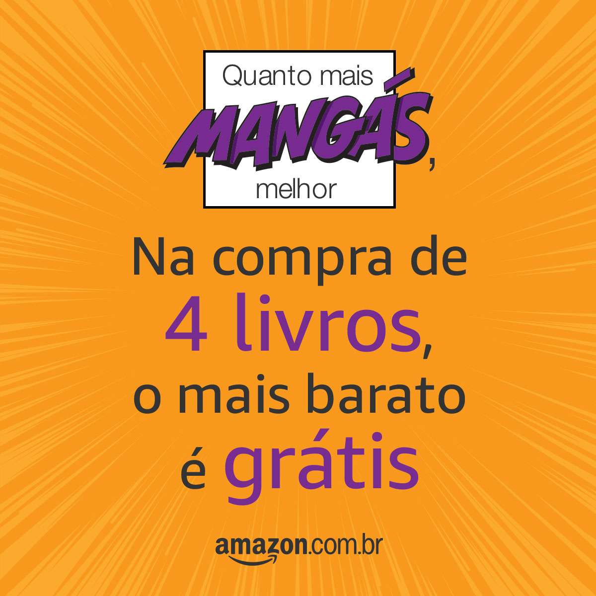 Mês do mangá na amazon