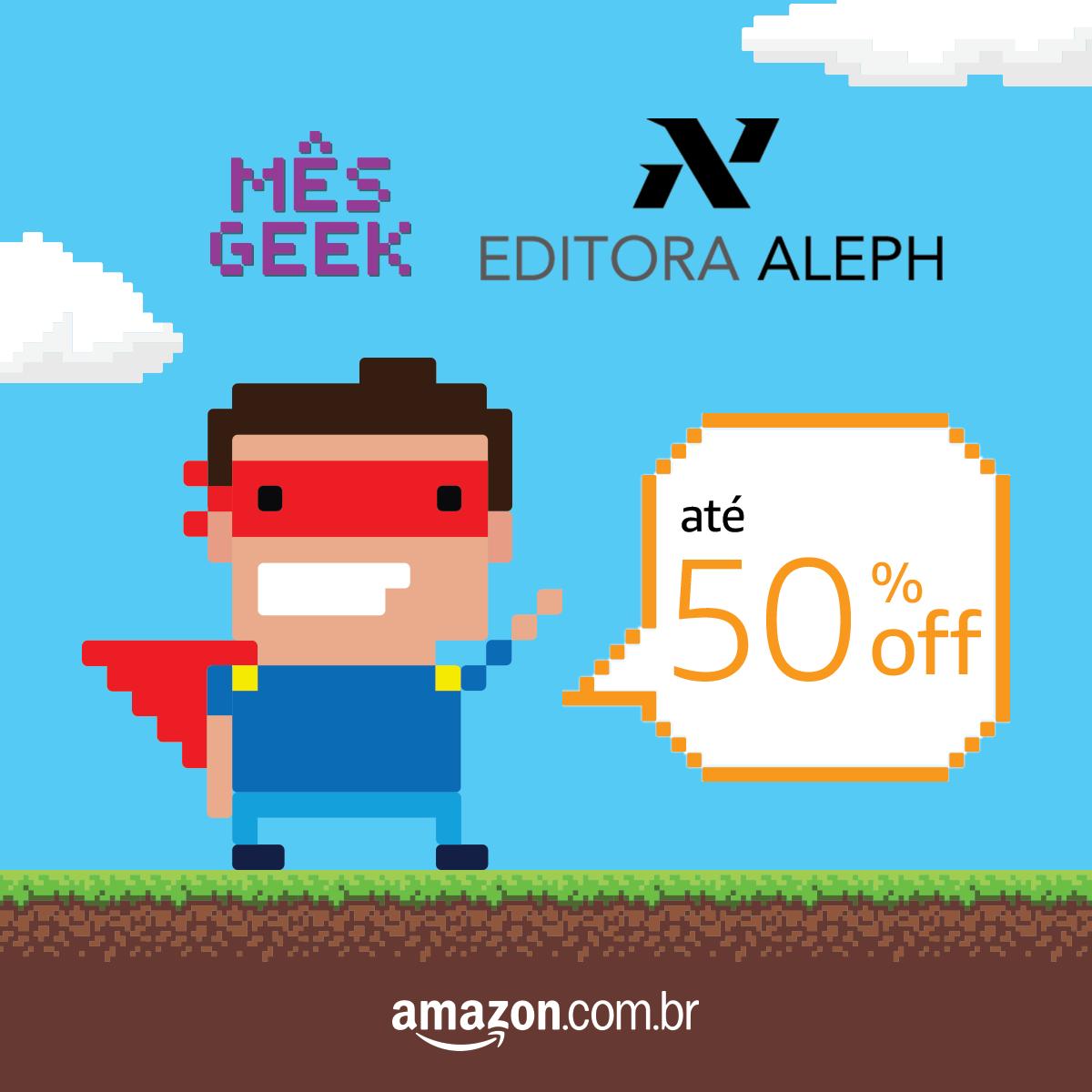 Livros da Editora Aleph com até 60% de desconto