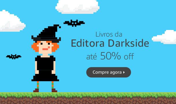 Livros da Editora Darkside até 50% off
