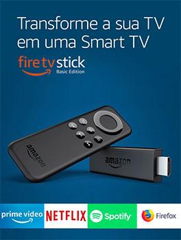 Fire TV Stick - Transforme sua TV em uma Smart TV
