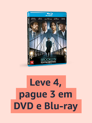 Leve 4, pague 3 em DVD e Blu-ray