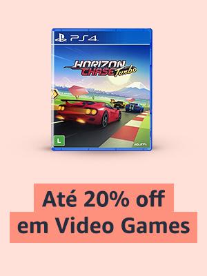 Até 20% off em Video Games