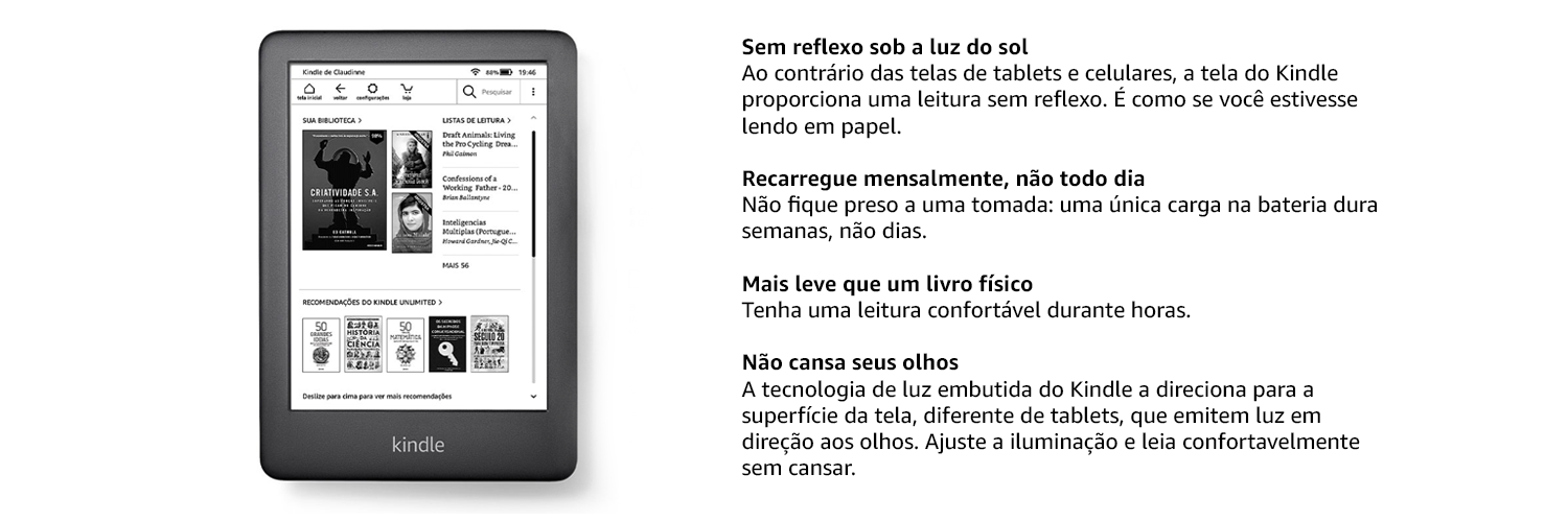 porque o kindle?