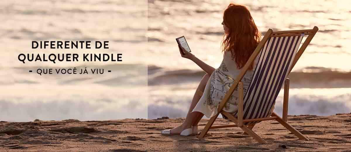 Diferente de qualquer Kindle que você já viu