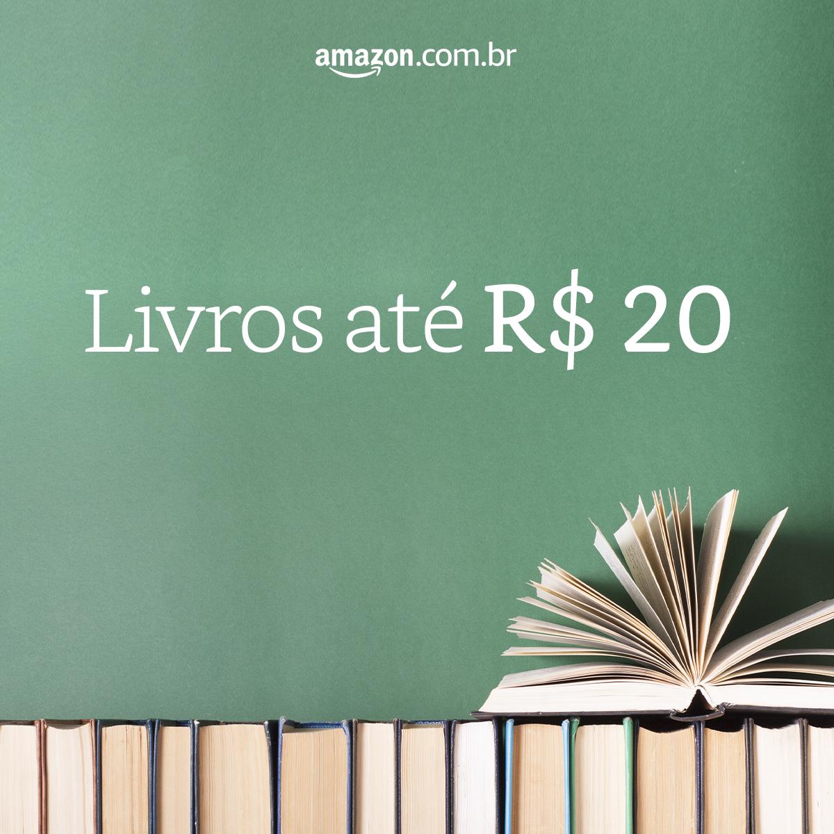 Livros até R$ 20