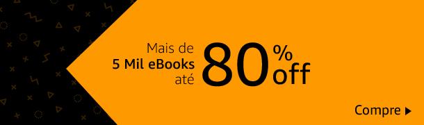 5 mil eBooks com até 80% de desconto