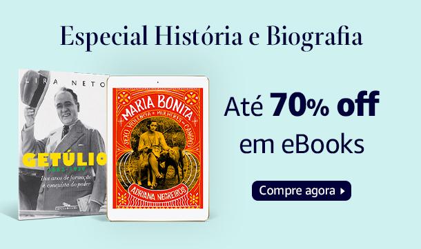 Especial História e Biografia: Até 70% off