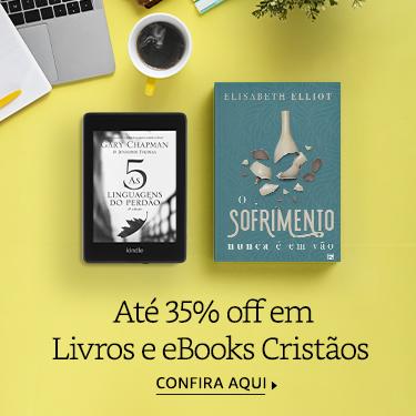 Até 35% off em Livros e eBooks Cristãos