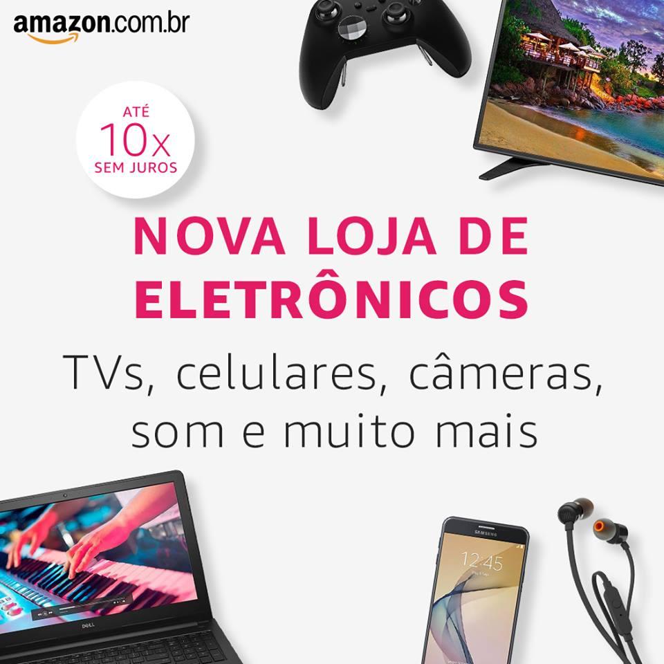 Eletrônicos e Tecnologia | Amazon.com.br