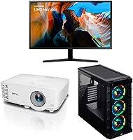 Monitores, Proyectores y Desktops para tener la mejor experiencia jugando o trabajando