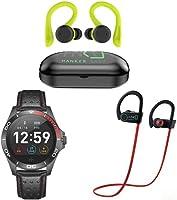 Bocinas, Audífonos, relojes inteligentes y más