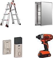 Hasta 30% en mejoras del hogar y herramientas, caja fuerte, escalera, mezcladora para fregadero, tarja para cocina y más