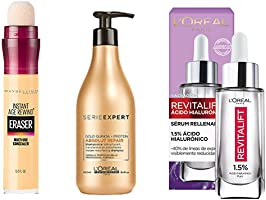 Maquillaje, cremas, serums y desmaquillantes