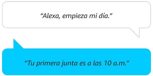 Alexa, empieza mi día