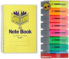 Great deals on select workbooks and stationery from Stabilo, Spirax and Celco. Discount applied in prices displayed.