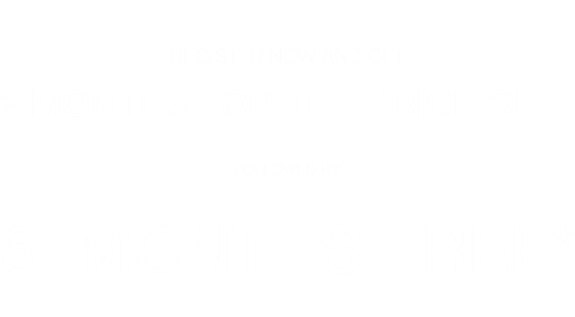 For a limited time, register to become a new seller now and receive 50% off your monthly subscription fee for the first two months and the subsequent six months free*.
