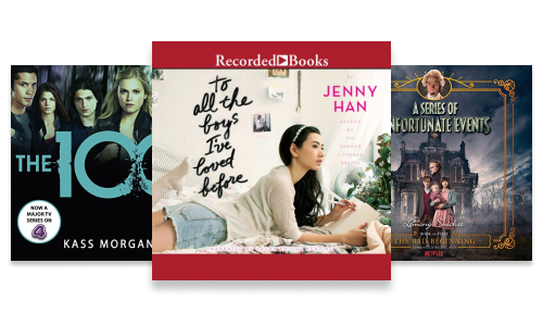 Young adult and teen audiobook series